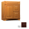 KraftMaid Chambord Montclair Kaffe Traditional Bathroom Vanity (Common: 36-in x 21-in; Actual: 36-in x 21-in)