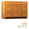 KraftMaid Key Biscayne Sonata Canvas with Cocoa Glaze Traditional Bathroom Vanity (Common: 48-in x 21-in; Actual: 48-in x 21-in)