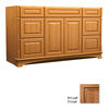 KraftMaid Chambord Montclair Ginger with Sable Glaze Traditional Bathroom Vanity (Common: 60-in x 21-in; Actual: 60-in x 21-in)
