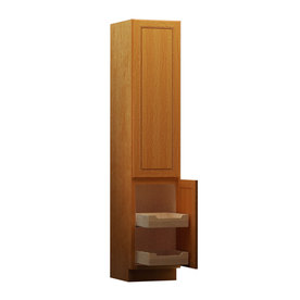 ... KraftMaid Provence Linen Cabinet (Common: 15-in; Actual: 15-in