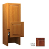 KraftMaid 18-in W x 52.5-in H x 15-in D Cherry Freestanding Cabinet Banks