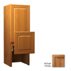 KraftMaid 18-in W x 52.5-in H x 15-in D Ginger with Sable Glaze Maple Bathroom Wall Cabinet