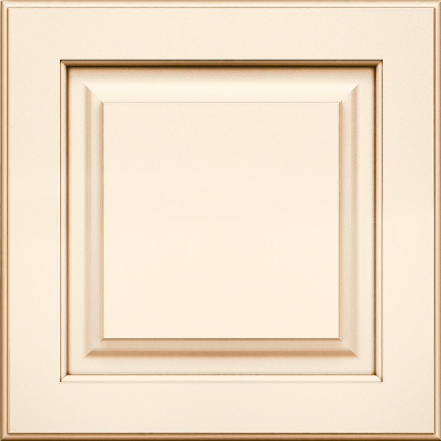 Kraftmaid montclair 15 in x 15 in biscotti with cocoa for Kitchen cabinets lowes with format papiers