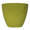 allen + roth 17.2-in x 14.45-in Acidic Green Plastic Planter