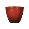 Garden Treasures 20.5-in x 17.76-in Red/Brn Nd Plastic Planter