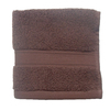 Style Selections 13-in x 13-in Chocolate Cotton Wash Cloth
