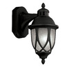 Portfolio 13-in Black Motion Activated Outdoor Wall Light ENERGY STAR