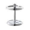 Style Selections Middlecrest Chrome Metal Toothbrush Holder