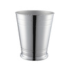 Style Selections Middlecrest Chrome Metal Wastebasket
