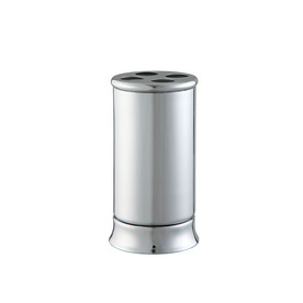 allen + roth Brinkley Chrome Metal Toothbrush Holder