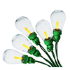 Holiday Living 25-Count 16-ft Constant Yellow Edison LED Plug-in Christmas String Lights ENERGY STAR Certified