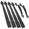 Stanley-National Hardware Steel-Painted Gate Hardware Kit