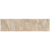 Style Selections Anesi Caramel Glazed Porcelain Indoor/Outdoor Bullnose Trim (Common: 3-in x 12-in; Actual: 2.82-in x 11.85-in)