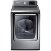 Samsung 7.4-cu ft Electric Dryer with Steam Cycles (Platinum)
