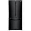 Samsung 19.43-cu ft French Door Refrigerator with Single Ice Maker (Black)