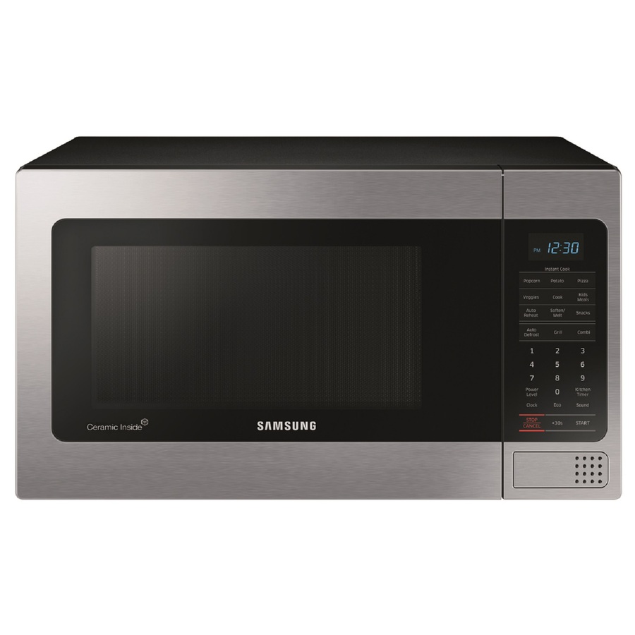 ... cu ft 1,000-Watt Countertop Microwave (Stainless) at Lowes.com