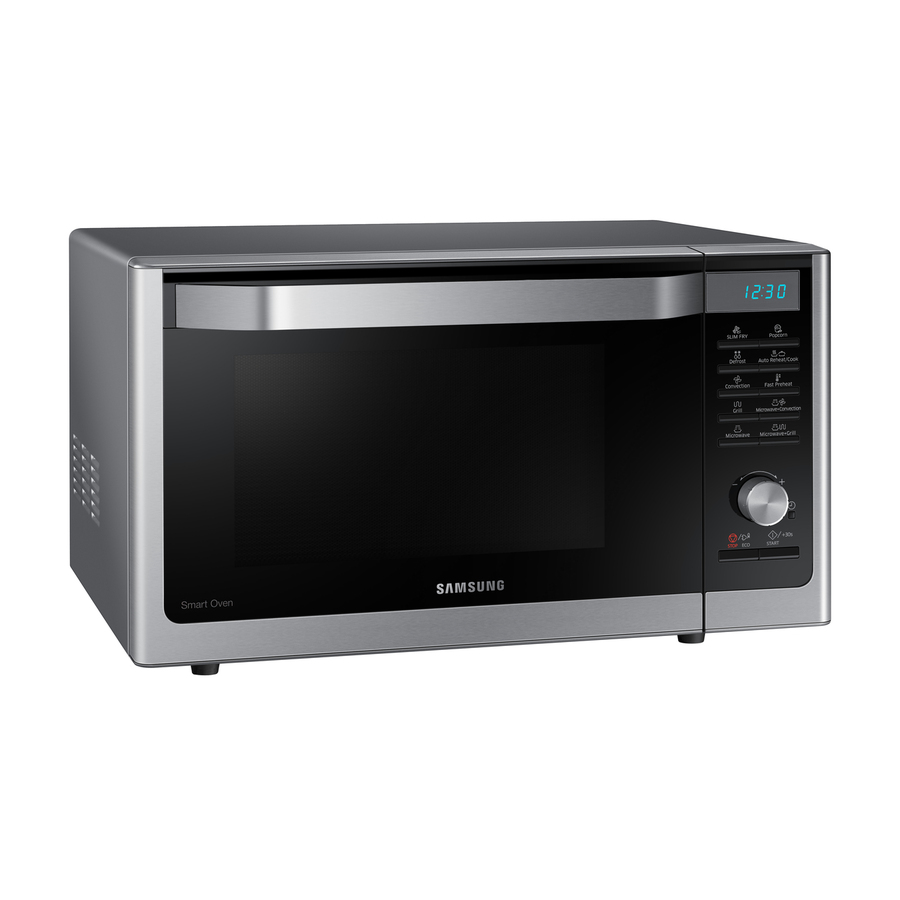 ft Capacity Samsung Countertop Convection Microwave with 1.1 cu MC11H6033CT