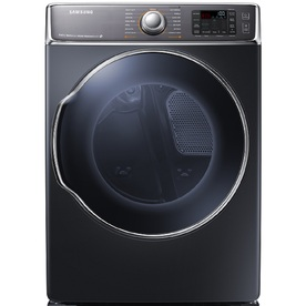 Samsung 9.5-cu ft Stackable Electric Dryer with Steam Cycles (Onyx)