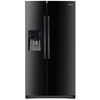 Samsung 24.5-cu ft Side-by-Side Refrigerator with Single Ice Maker (Black)