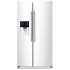 Samsung 24.5-cu ft Side-by-Side Refrigerator with Single Ice Maker (White)