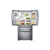 Samsung 28.15-cu ft 4-Door French Door Refrigerator with Single Ice Maker (Stainless Steel) ENERGY STAR