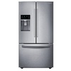 Samsung 22.5-cu ft Counter-Depth French Door Refrigerator with Dual Ice Maker (Stainless)