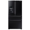 Samsung 28.15-cu ft 4-Door French Door Refrigerator with Single Ice Maker (Black) ENERGY STAR