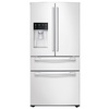 Samsung 24.73-cu ft 4-Door French Door Refrigerator with Single Ice Maker (White) ENERGY STAR