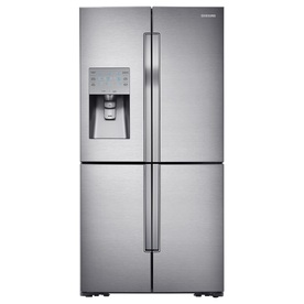 Samsung 31.7-cu ft 4-door French Door Refrigerator with Single Ice Maker (Stainless Steel) ENERGY STAR RF32FMQDBSR