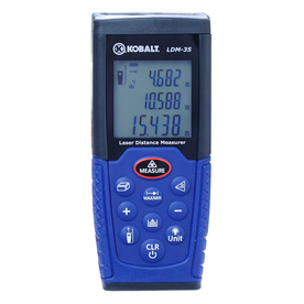 Kobalt Metric and SAE Laser Distance Measurer LDM-35