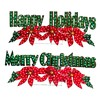 Holiday Living Lighted Holiday Greetings Outdoor Christmas Decoration with White Incandescent Lights