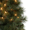 Holiday Living 4-ft Pre-Lit Scott Pine Artificial Christmas Tree with White Incandescent Lights
