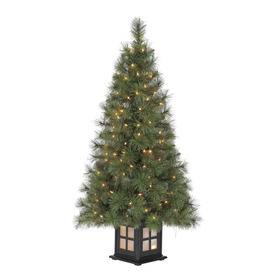 Holiday living 4 ft pre lit scott pine artificial christmas tree with