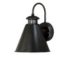 Portfolio Alta 12-in H Oil-Rubbed Bronze Motion Activated Dark Sky Outdoor Wall Light