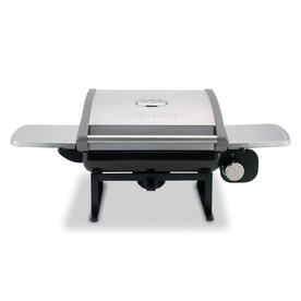 Cuisinart Stainless and Black 12,000-BTU 240-sq in Portable Gas Grill