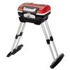 Cuisinart Petit Red 1 lb Cylinder Push and Turn Ignition Portable Gas Grill