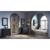Style Selections Euro Style 20-in W x 30-in H Espresso Rectangular Bathroom Mirror