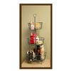 allen + roth Brushed Nickel Floorstanding Shelf (Common: 14-in; Actual: 14-in)