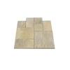 Nantucket Pavers 10-ft x 10-ft Tan Random Rivenstone Paver Patio Block Project Kit