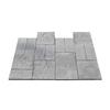 Nantucket Pavers 12-ft x 12-ft Gray Kingsmill Rivenstone Paver Patio Block Project Kit