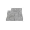 Nantucket Pavers 10-ft x 10-ft Gray Dutch Rivenstone Paver Patio Block Project Kit