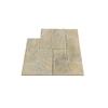 Nantucket Pavers 10-ft x 10-ft Tan Variegated Dutch Rivenstone Paver Patio Block Project Kit