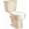 AquaSource Biscuit 1.28 GPF High Efficiency WaterSense Elongated 2-Piece Toilet