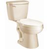 AquaSource Eldridge Biscuit 1.28-GPF (4.85-LPF) 12-in Rough-in WaterSense Elongated 2-Piece Comfort Height Toilet