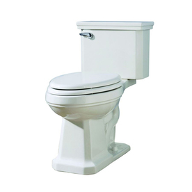 AquaSource Tristan White 1.28-GPF (4.85-LPF) 12-in Rough-In WaterSense Elongated 2-Piece Comfort Height Toilet