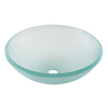 AquaSource Green Glass Vessel Bathroom Sink