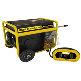 Stanley 5,000-Running Watts Portable Generator with Stanley Engine