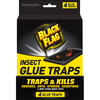 BLACK FLAG 4-Count Insect Glue Traps