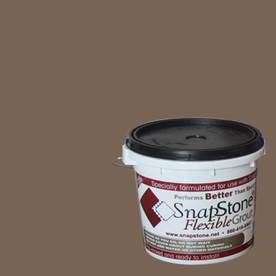 SnapStone 9 lbs Bark Epoxy Premixed Grout
