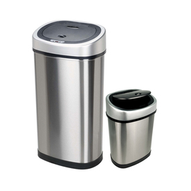 NINESTARS 13.2-Gallon Trash Can